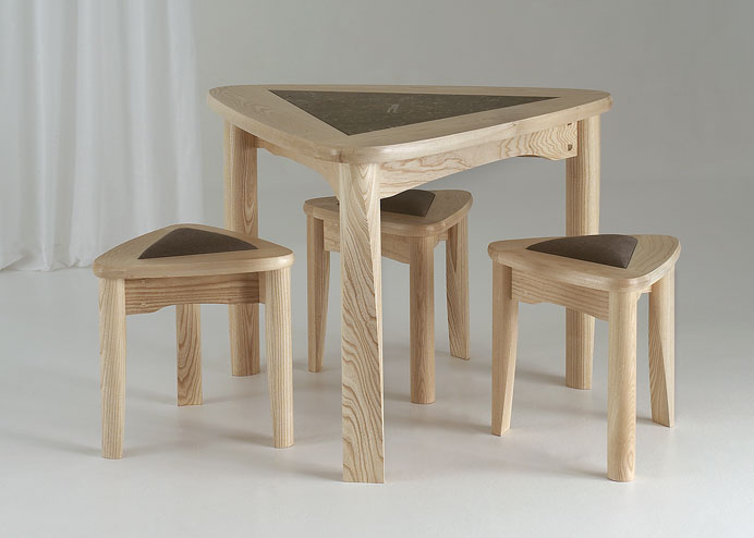Delta Table and Stools