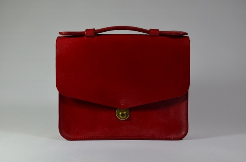 Small Red Briefcase