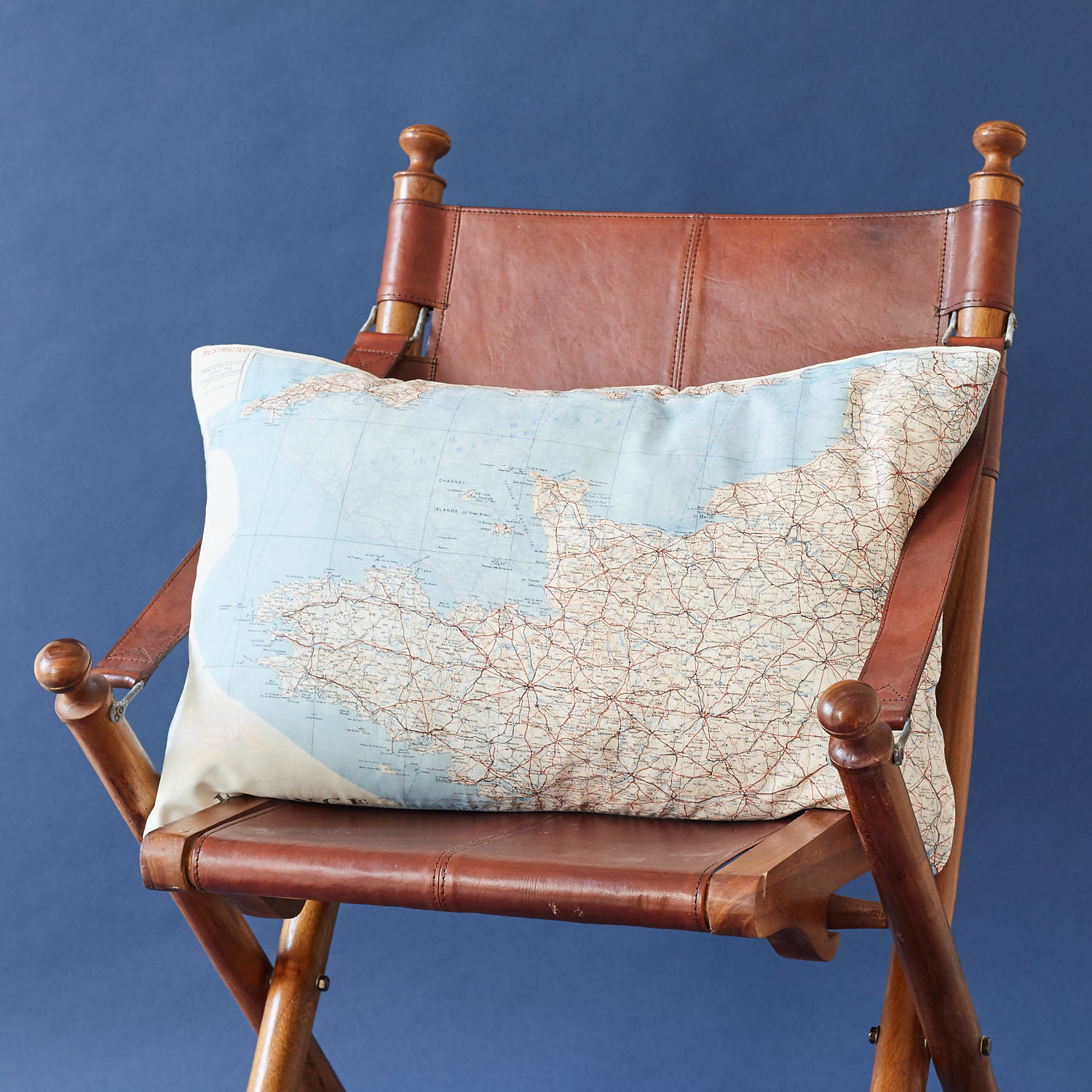 Esacpe and Evade map cushion