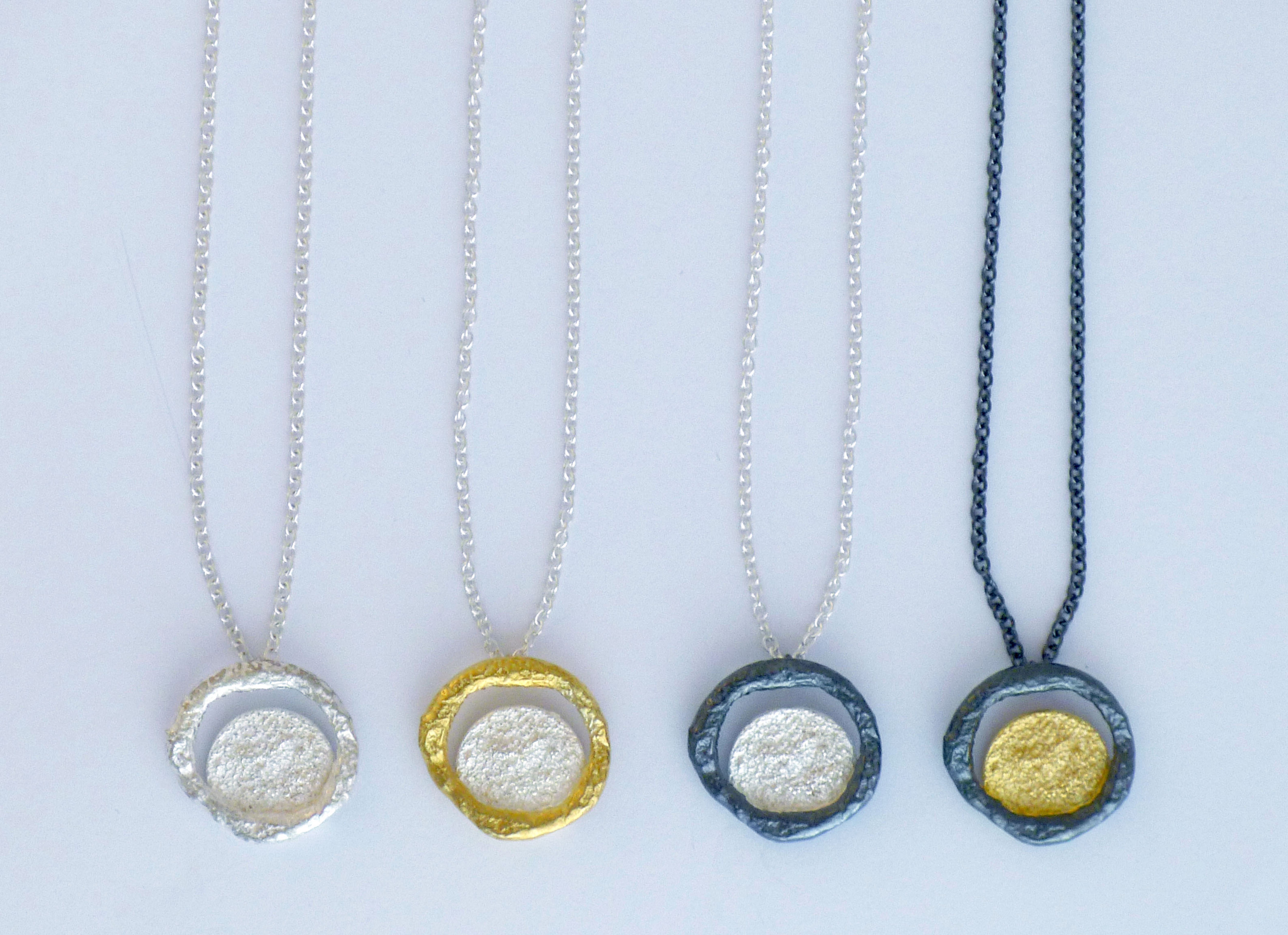 Mixed Composition necklaces