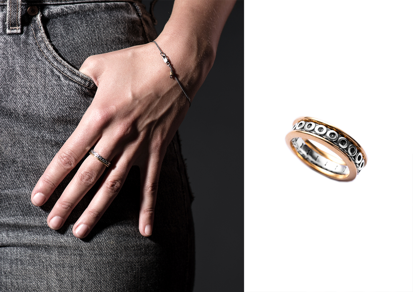 Stacking Ring/ X & Y Collection