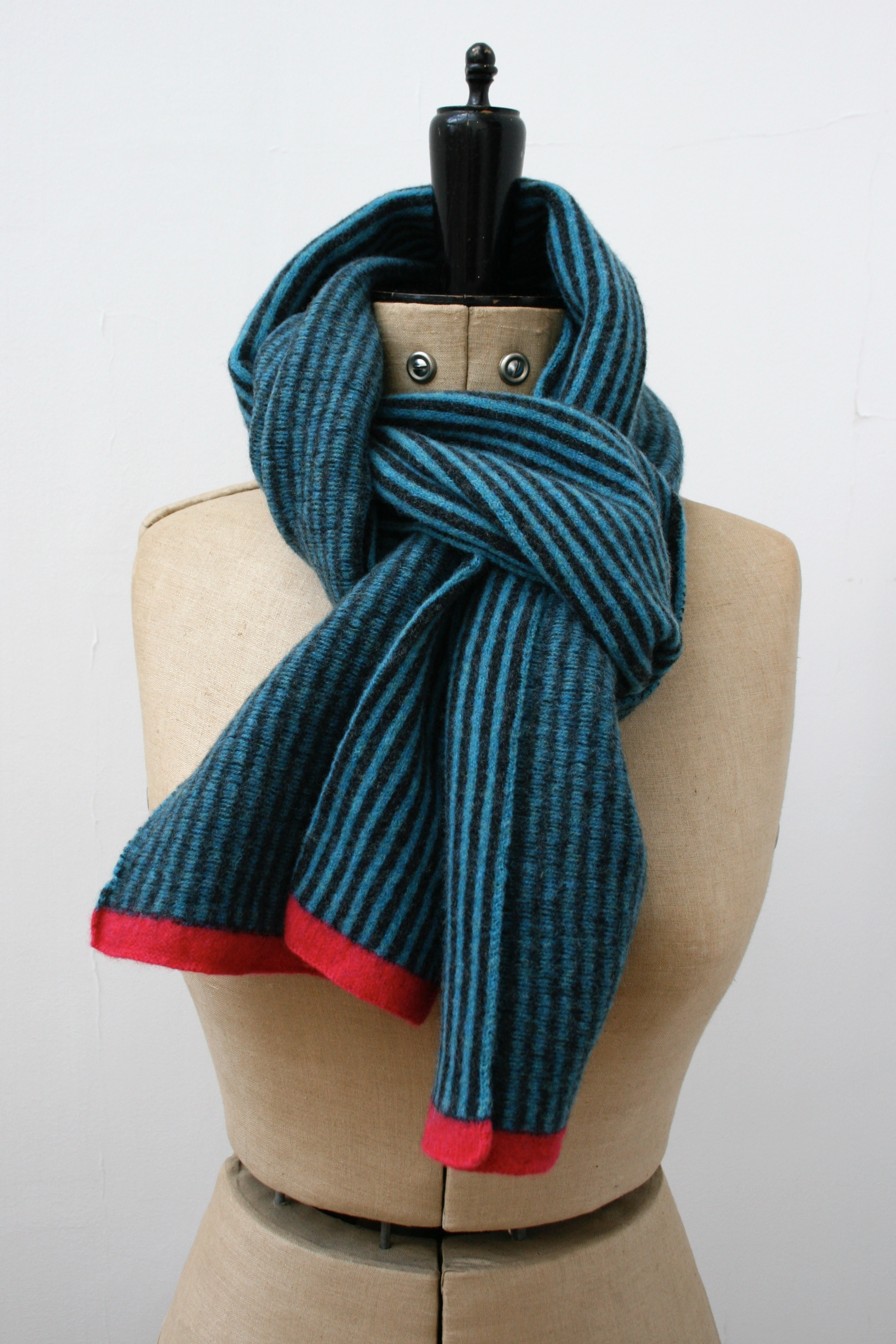 Double Striped Scarf