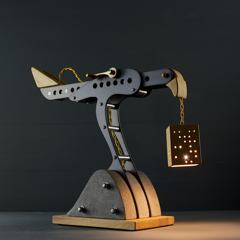 Mini Hawk lamp