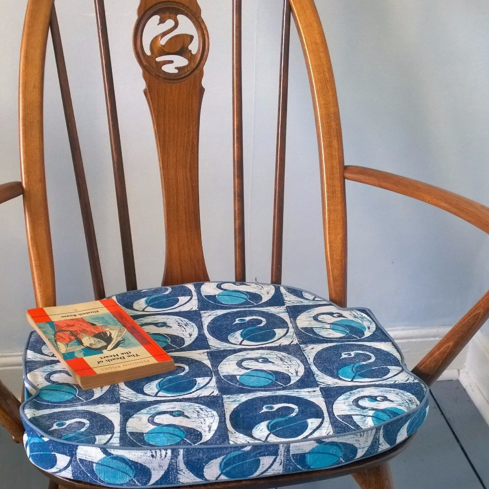 SWAN commission chair cushion