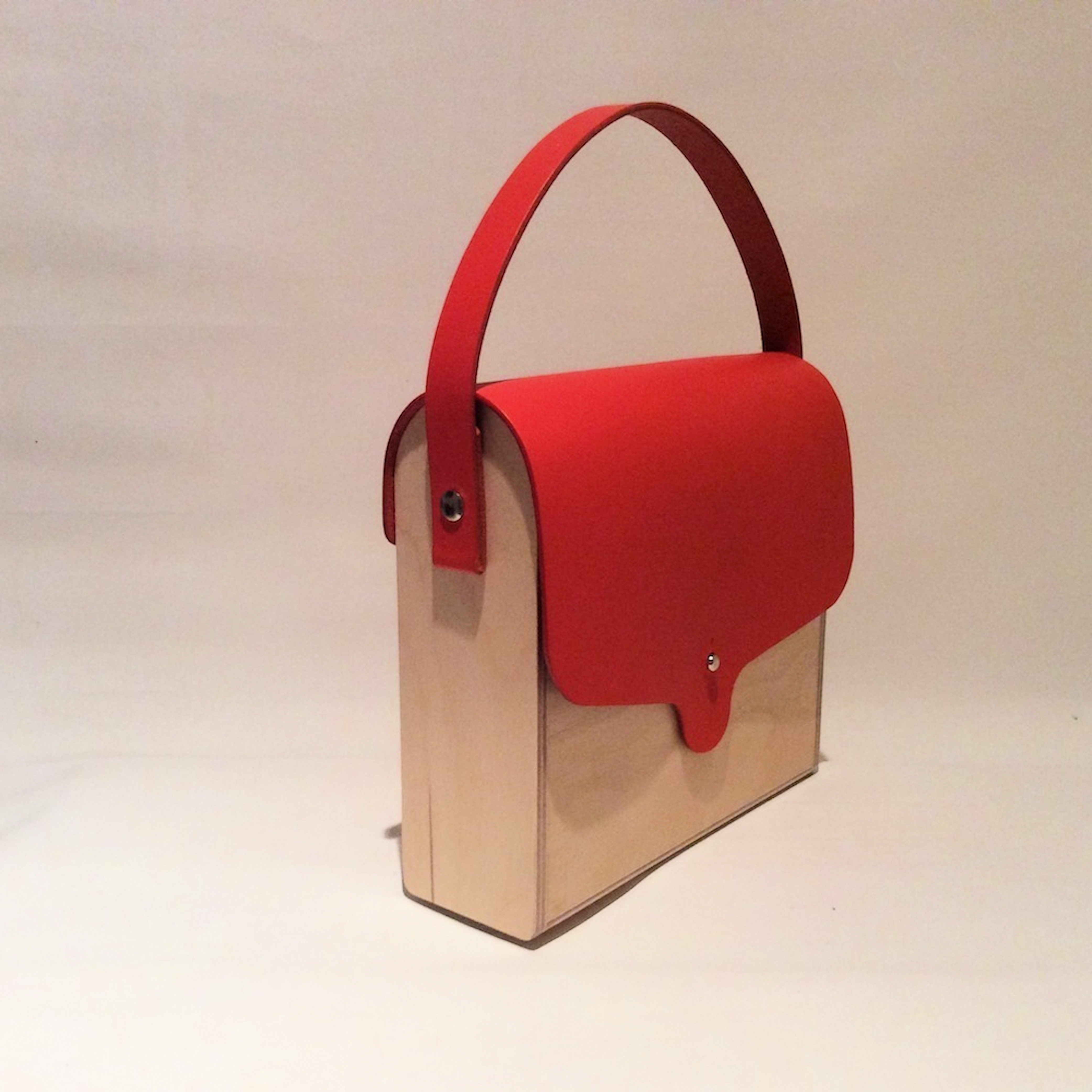 Plywood Hand Bag