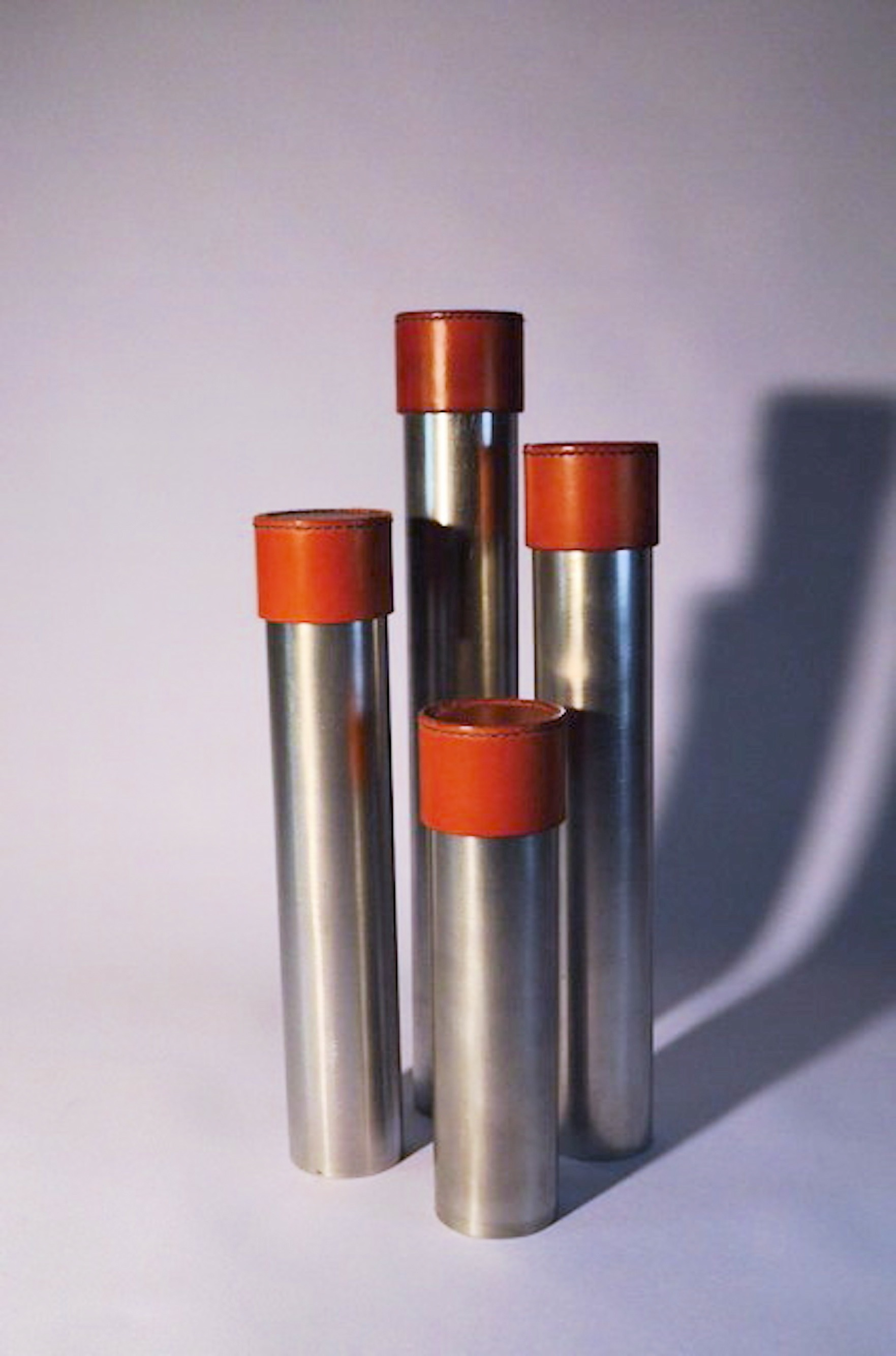 Aluminium Paintbrush/pencil tubes